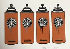 "Death NYC - 4 Coffe Spray ""Rare Limited Edition Signed Graffiti Print"""