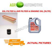 Essence huile filtre à air kit + fs 5W40 huile pour renault twingo 1.2 75 bhp 2007 -