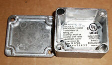 "BUD INDUSTRIES INC AN-1311-A TINY CAST ALUMINUM METAL ENCLOSURE 1.9"" x 1.7"" NEW"