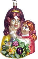 Slavic Treasures | Mom's Bouquet Ornament *New* Poland Rare Mother Daughter Cute