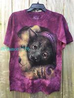 NEW The Mountain Purple Baby Bat Bedtime Unisex Adult/Kids T-Shirt 100% Cotton