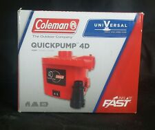 Coleman 4D Universal Quick Pump for Air Mattress, Bed, AC, Outlet, 120 V, New