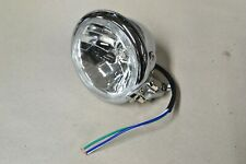 Chrome Motorcycle Headlight Assembly, Emgo (Brand New!) 4 1/2 in.