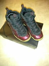 Nike foamposites burgundy US 5 Grade School  very good condition no marks