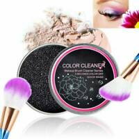 Women Makeup Brush Cleaner Quick Wash Sponge Brush Color Remover Dry Clean Box