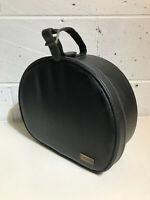 Vintage Charles Of The Ritz Black Leather Vanity Case
