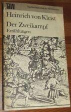 Heinrich von KLEIST Der Zweikampf TdW- Reihe Taschenbuch der Weltliteratur 1983