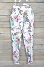 Pantaloni da donna multicolore affusolati
