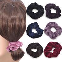 4Pcs Women Elastic Accessory Hair Scrunchies Ponytail Holder Scrunchy Hairband