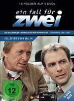 EIN FALL FÜR ZWEI - EIN FALL FÜR ZWEI COLLECTOR'S BOX 14 (F. 195-209) 5 DVD NEU