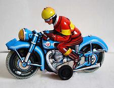 Moto Azul Alemana 15513
