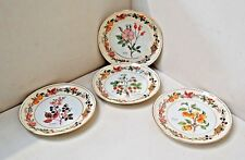 """Aynsley - decorative side plates x 4, 81/2"""" in Dia (215 mm). please view photo's"""