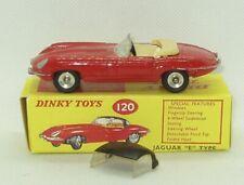 Dinky #120 Jaguar E Type /Box