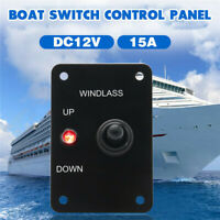 12V 15A Boat Marine  Pin LED Up Down On/Off/On Momentary Toggle Switch   K R H