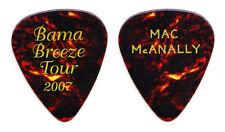Jimmy Buffett Mac McAnally Brown Guitar Pick - 2007 Bama Breeze Tour