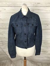 Women's Pepe Jeans Denim Jacket - Small UK8 - Navy - Great Condition