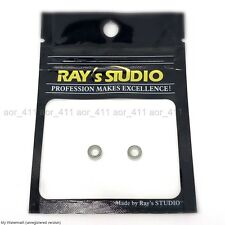 2xRAY's Studio Stainless Reel KNOB Handle Ball Bearing For Shimano・Daiwa 4x7x2.5
