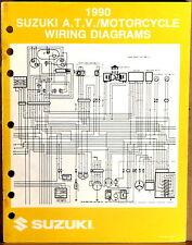 "SUZUKI SERVICE MANUAL Motorcycle & ATV Wiring Diagrams 1990 ""L"" MODELS"