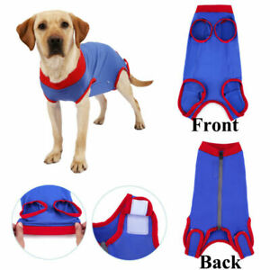 Dog Cat Recovery Suit Pet After Surgery Abdominal Wound Clothes Medical Shirts