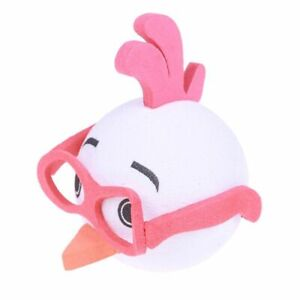 Cute Glasses Chickens Car Antenna Pen Topper Aerial Eva Ball Decorations Toys