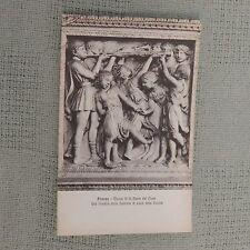Vintage Postcard Firenze - Museo De S. Maria Del Fiore Una Formella Della Contor