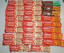 OatMega LOT20 Protein Bars Energy Chocolate Peanut  Vanilla Almond READ 1/21