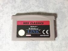 NES CLASSICS THE LEGEND OF ZELDA II 2 THE ADVENTURES OF LINK GBA ADVANCE E DS