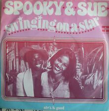 "7"" 1974 NL-PRESS VG+! SPOOKY & SUE : Swinging On A Star"