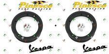 Pinasco cerchio in lega Nero Tubeless scomponibile 3.00.10 Vespa 125 Primavera