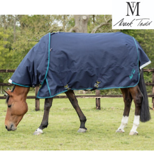 """Mark Todd Heavyweight Turnout Rug with Neck Included 5'6"""""""