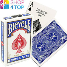 BICYCLE RIDER BACK BRIDGE SIZE BLUE PLAYING CARDS DECK USPCC NEW