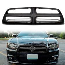 New Flat Black Front Grille Shell For 2011-2014 Dodge Charger