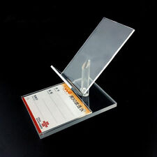 10pcs Clear Acrylic cell phone display stand holder universal General ZLT-XK04