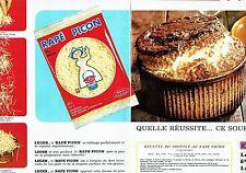 PUBLICITE ADVERTISING 126  1969  le fromage Rapé Picon (2p)