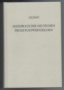 Carl Schmidt Handbuch der deutschen Privat-Postwertzeichen, Privatpost, Locals