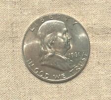 1961 D Franklin Half Dollar
