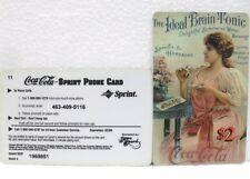Coca-Cola - SCORE BOARD-SPRINT PHONE CARD n° 06 - sc. 02-98-scheda telefonica