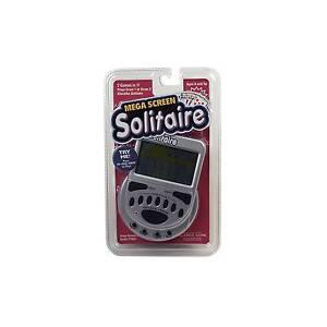 Mega Screen Solitaire 77803 Handheld Game