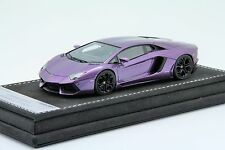 1/43 Looksmart Lamborghini Aventador LP700 Metallic Violet, Free Shipping