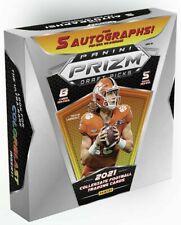 2021 Panini Prizm Collegiate Draft Picks Football Factory Sealed Hobby Box