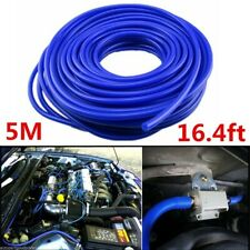 Autos Car 4mm Blue Silicone Vacuum Tube Hose Pipe Silicon Tubing 16.4ft 5-Meters