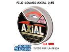 FILO SURFCASTING COLMIC AXIAL MT 300 mm 0,25 col. ORANGE