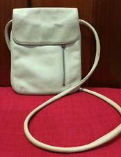 Tignanello Leather Beige Crossbody Hand Bag