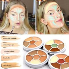 6 Colors Contour Cream Tattoo Cover Wheel Concealer Makeup Foundation Palette