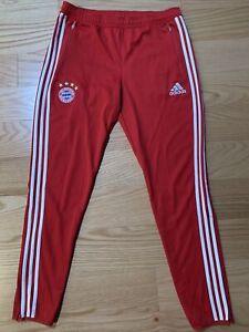 Adidas Men 2014-15 Bayern Munich Adidas Training Pant F49504 Rare Soccer Sz L