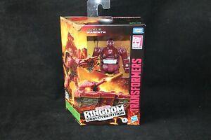 Transformers Hasbro War for Cybertron Kingdom Warpath MISB Collector Grade