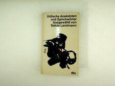 Salcia Landmann - Jüdische Anekdoten und Sprichwörter - 1972