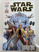 STAR WARS #1 (2015) MARVEL COMICS JOHN CASSADAY ART & COVER! PRINCESS LEIA! NM