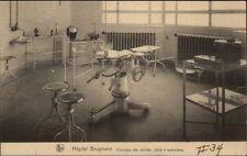 Bruxelles Hopital Hospital Brugmann c1915 Postcard #3 Operating Room