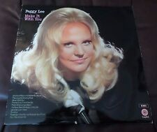 PEGGY LEE ~ Make it with you UK LP EMI Capitol Records 1970